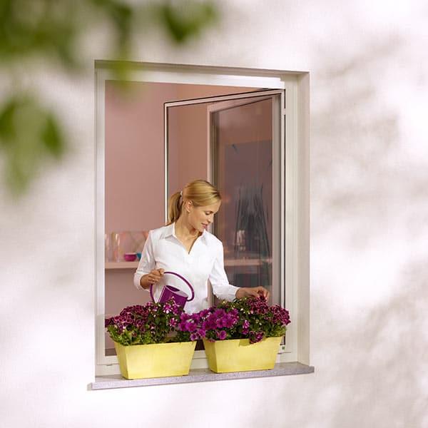Insektenschutz Fenster Drehrahmen